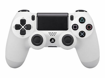 Sony Playstation PS4 Controller Dual Shock wireless in weiß