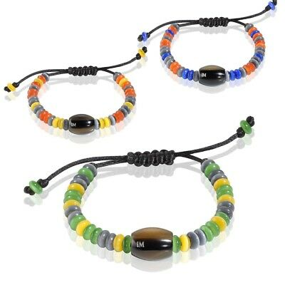 MORELLATO Bracciale DROPS for AFRICA Uomo Donna Multicolor Corno Naturale New DD