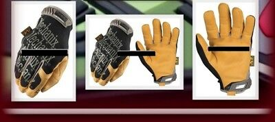 Mechanix The Original 4x Einsatz Handschuhe Black / Coyote Militär BW Security