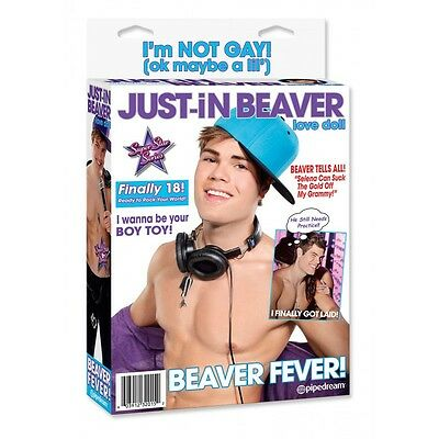 JUST IN BEAVER LOVE DOLL - Pipedream
