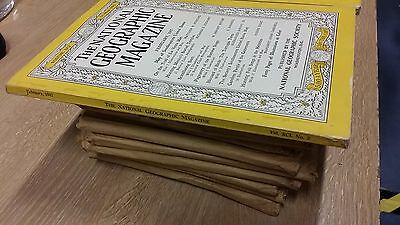 Job lot National Geographic 1963 - 1969 Year pack