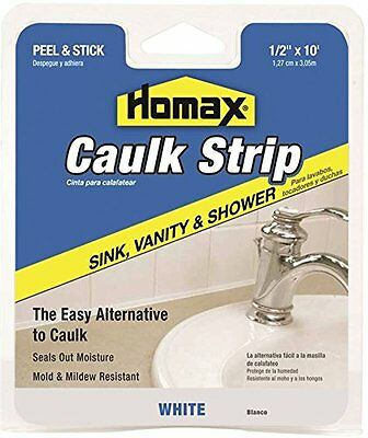 Caulk Strp Sink Wht 1/2inx10ft