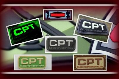 Ready to patch 3D Rubberpatch CPT Close Protection Team Personenschutz