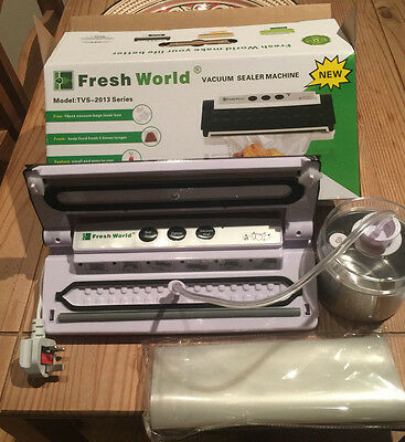 Vacuum Sealer Machine With Vacuum Seal Preservation Jar Extra Strong Suction