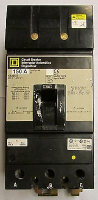 SQUARE D Type KA I Line Circuit Breaker 3 Pole 150 Amp KA36150