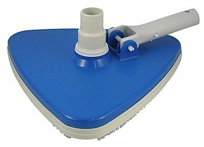 Jed Pool Tools 30-164 Inc 30-164 Deluxe Tri-Vacuum with Vinyl Bumper