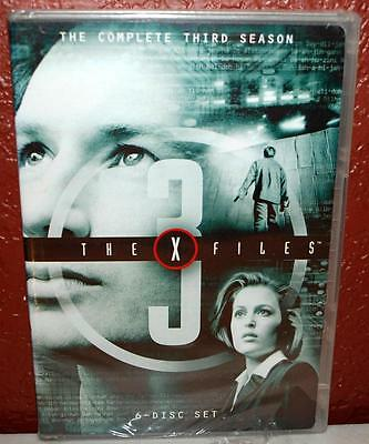~New Factory Sealed~ The X Files Complete Third Season 6 Disc Set Dvd ~125