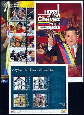 Venezuela Full Completed Year 2013 Chavez- Post Office MNH