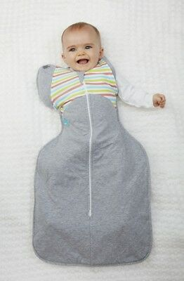 Love to Dream 50/50 WARM stripeTransitional Swaddle RRP $59.95 our price $56.95