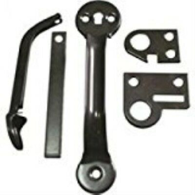Latch Thumb Steel Black