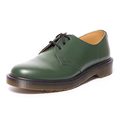 DR MARTENS shoes 1461 PW green VERT SMOOTH shoes green