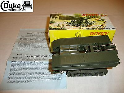 FRENCH DINKY 883 CHAR AMX BRIDGE LAYER - EXCELLENT in original BOX