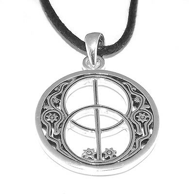 Chalice Well Pagan Celtic Pendant (Silver Plated Necklace)
