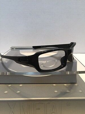 ••Oakley Fives Squared (4+1)2 Polished Black Gunmetal Icons Fast Free S/H••