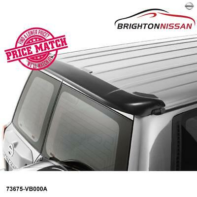 New Genuine Nissan GU Patrol Y61 Wagon Rear Dust Deflector 73675VB000A RRP$128