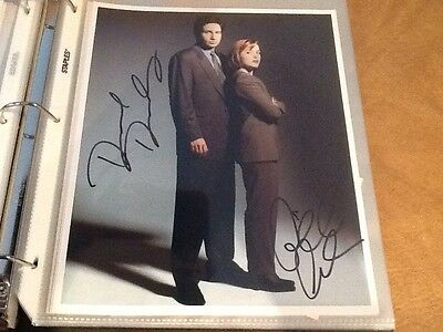 X-Files Authentic Autographed Picture