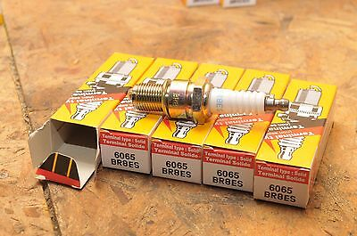 NGK 6065/3961 BR8ES  S SOLID Spark Plugs LOT OF FIVE (5)
