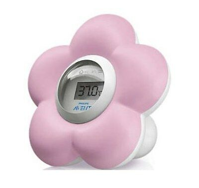 NEW AVENT - Digital Bath and Bedroom Thermometer - Pink from Baby Barn Discounts