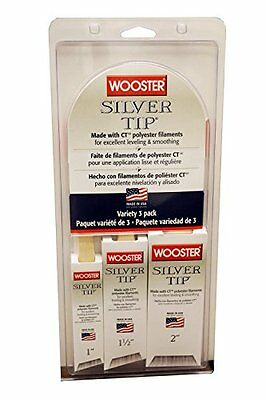 Wooster Brush 5229 Silver Tip Variety (Pack of 3)