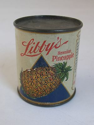 Vintage Libby's Miniature Pineapple Tin Can