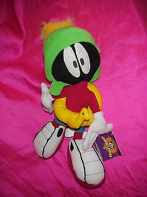 "New Nwt 12"" Marvin The Martian Looney Tunes Warner Bros Wb Plush Figure Doll"