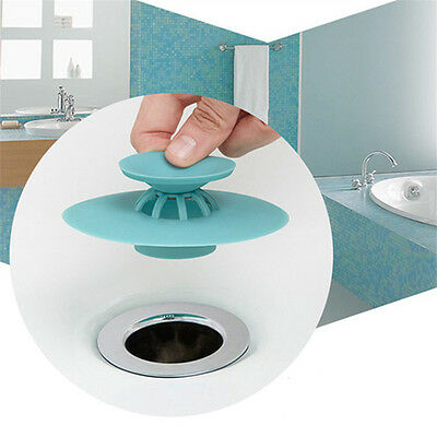 2 in 1 Silicone Hair Stop Catcher for Tub & Shower Drains Protector