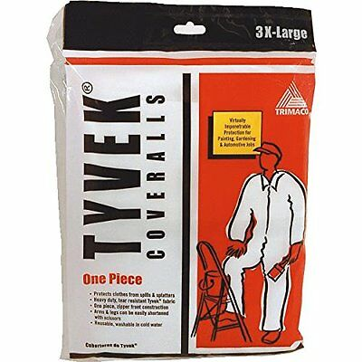 TRI PAPER 14125 Tyvek Coverall, 3/4-Inch X 11-Inch X 8-1/4-Inch