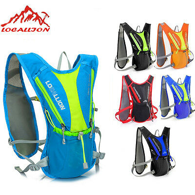 5L 12L Outdoor Bicycle Bike Cycling Water Bladder Bag Hydration Backpack Hiking