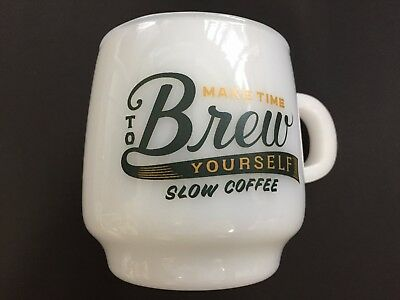 KINTO Mug Cup Sign Paint SCS Brew 340ml Heat Resistant Glass 27675 from JAPAN
