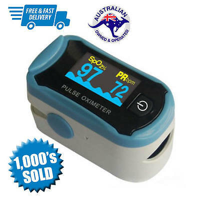 ChoiceMed C29 Fingertip Pulse Oximeter | Pulse Meter | Free Postage! Brand New!