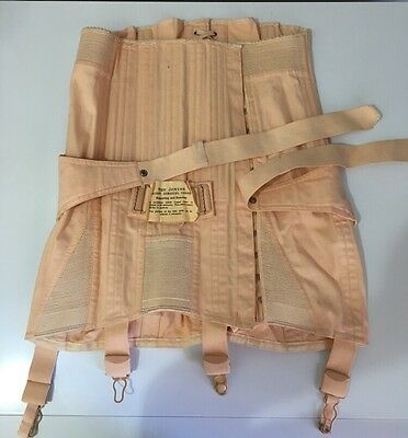 Original Vintage Corset Girdle With Original Tag! 1950s Pinup Collector Lingerie