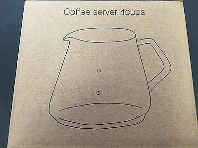 KINTO Coffee Server SCS-S02 600ml 0.6L Heat Resistant Glass 27592 from JAPAN