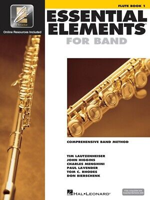 New Essential Elements for Band: Flute Book 1 & CD - Comprehensive Band Method