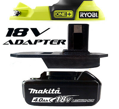 Makita Cordless Trim Router Trimmer Battery Adapter to Ryobi 18v One+Tools