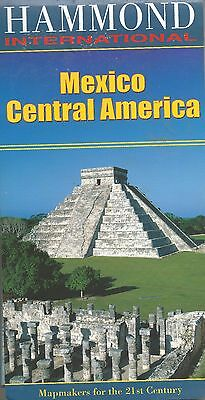 Hammond Map Of Mexico Central America 2006 Lightly Used