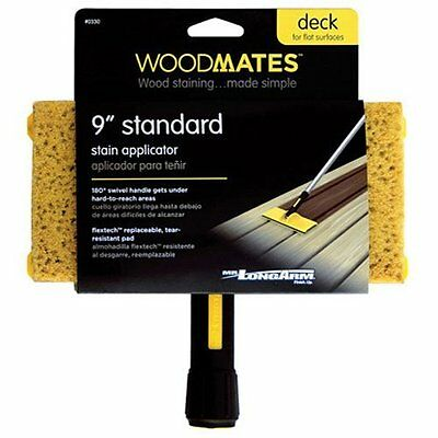 Mr. Long Arm 0330 Woodmates 9-Inch Standard Stain Applicator