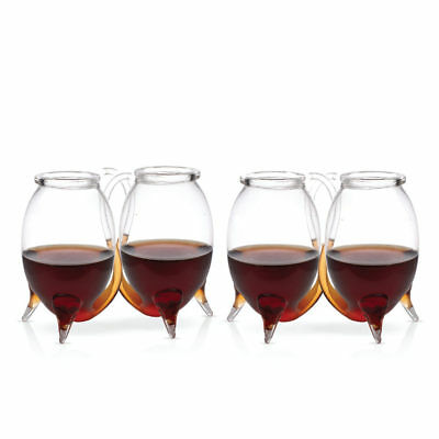 Port Sippers - Set of 4 - Vampire Wine Glasses