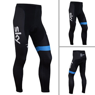 New Mens Bicycle Padded Pants Riding Outdoor Sports Wear Cycling Lycra Tights