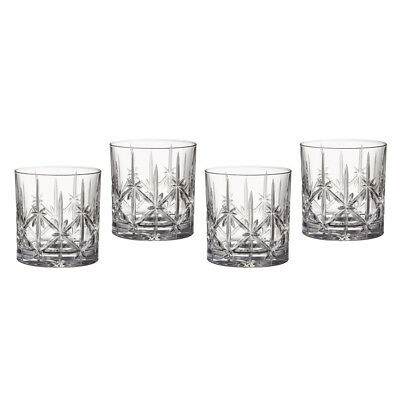 NEW Waterford Sparkle Tumbler Set 4