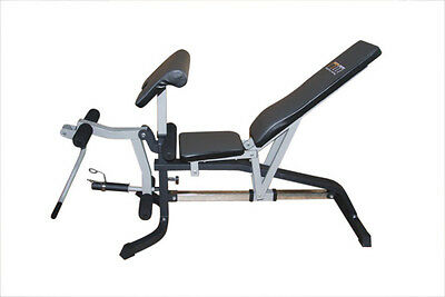NEW FID Flat Incline Decline Bench Press with Leg Extension