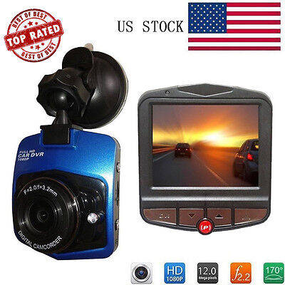 HD 1080P Night Vision Car Video Recorder Camera Vehicle Dash Cam DVR G sensor FH
