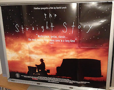 Cinema Poster: STRAIGHT STORY, THE 1999 (Quad) David Lynch Richard Farnsworth