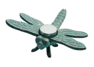 NEW Dragonfly Candle Holder