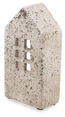 NEW Rectangular Cement House Candle Holder