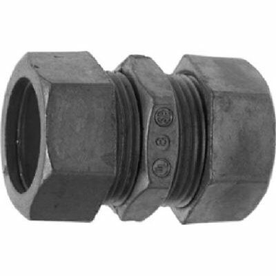 Halex 90221 1/2-Inch EMT Compression Coupling