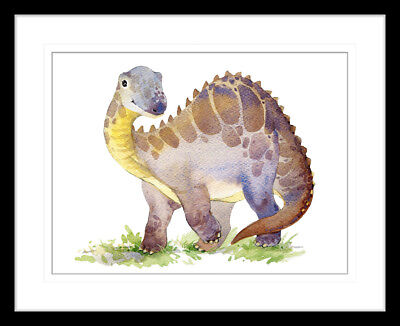 NEW Dino Tales I Framed Print