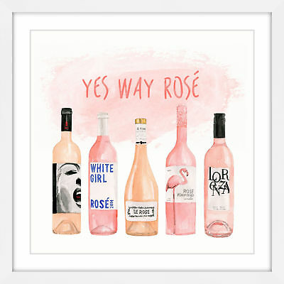 NEW Yes Way Rose Wall Art