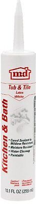M-d Products GE14209 Tub and Tile  Latex Caulk, 10.1-Ounce, White