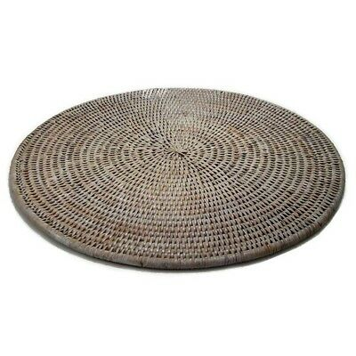 NEW Rattan Large Round Placemats