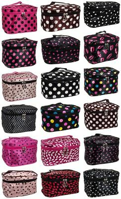 New Ladies Cosmetic Bag Make Up Pencil Case Travel Toiletry Wash Organiser Wash
